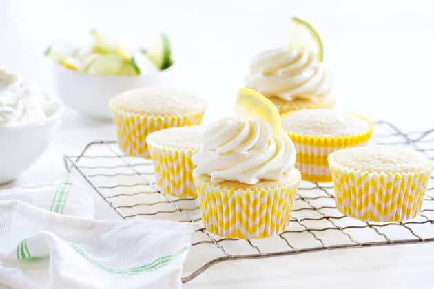 Lemon Lime Cupcakes Photo