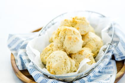 Gluten Free Drop Biscuits