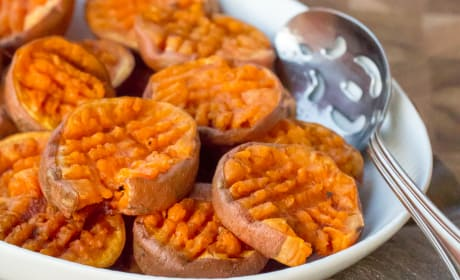 Smashed Sweet Potatoes Recipe