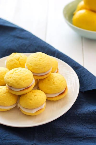 Lemon Ricotta Sandwich Cookies Image