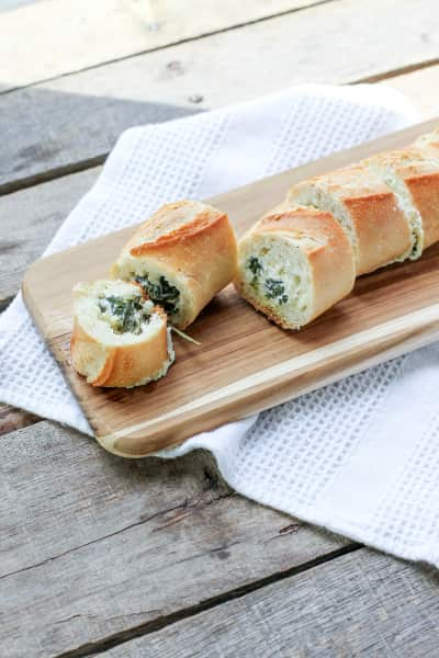 Spinach Artichoke Dip Stuffed Bread Picture