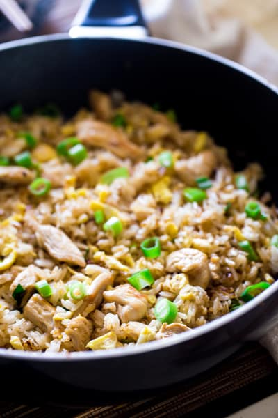 Easy Chicken Fried Rice Image