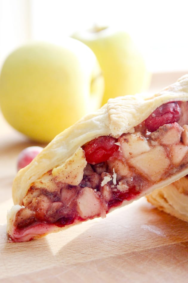 Cranberry Apple Strudel Picture
