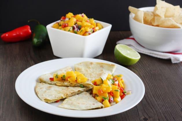 Easy Mango Salsa Image