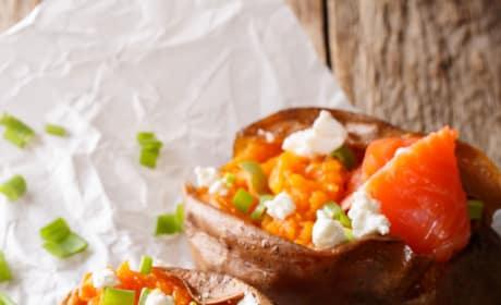 How to Bake a Sweet Potato Image