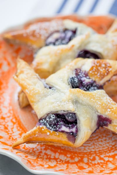 Blueberry Cream Cheese Danish Pic
