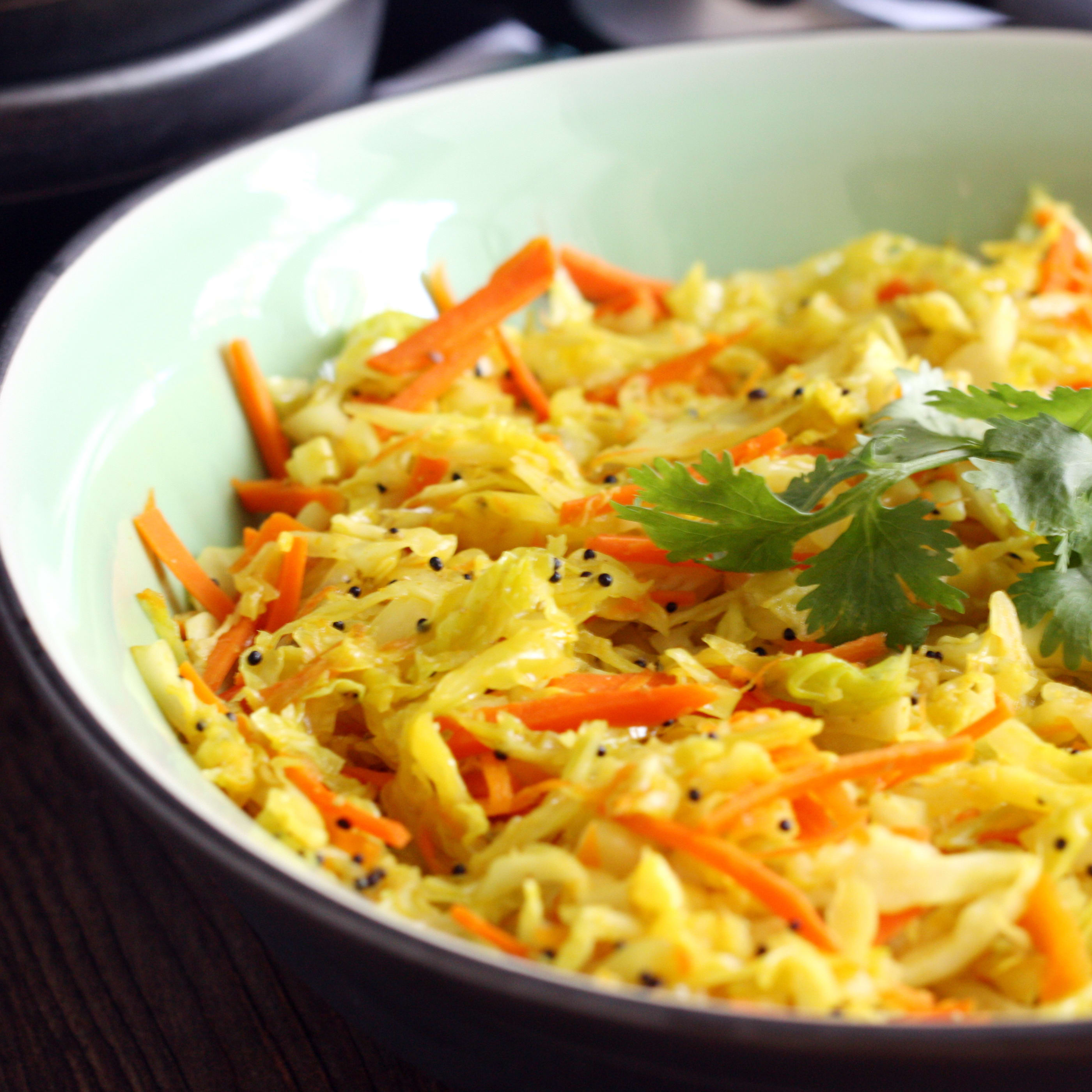 curry cabbage stir fry