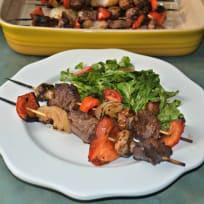 Teriyaki Steak Kabobs Recipe
