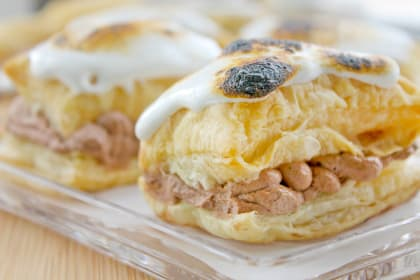Toasted Marshmallow Napoleons