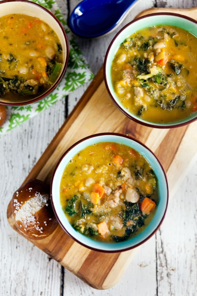 Sausage and Kale Soup Picture