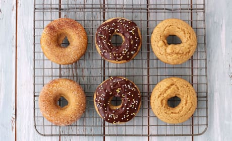 Baked Buttermilk Donuts Pic