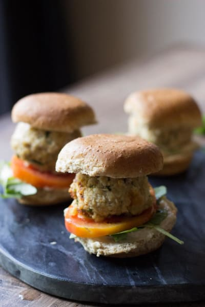 Chicken Meatball Sliders Picture