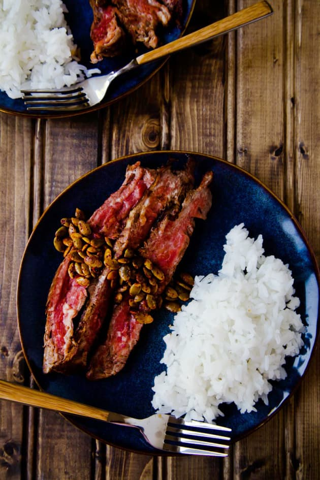 Pan Seared Flank Steak Picture
