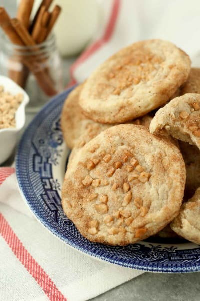 Toffee Snickerdoodles Pic