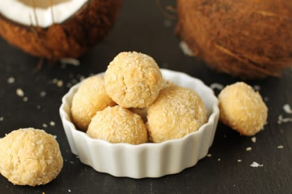 Gluten Free Coconut Cookies: Tropical Treat