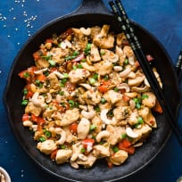 Easy Paleo Cashew Chicken Stir Fry Recipe