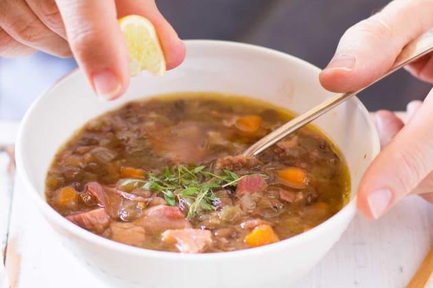 German Lentil Soup Photo