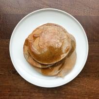 Blue Cornmeal Pancakes