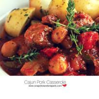 Cajun Pork Casserole