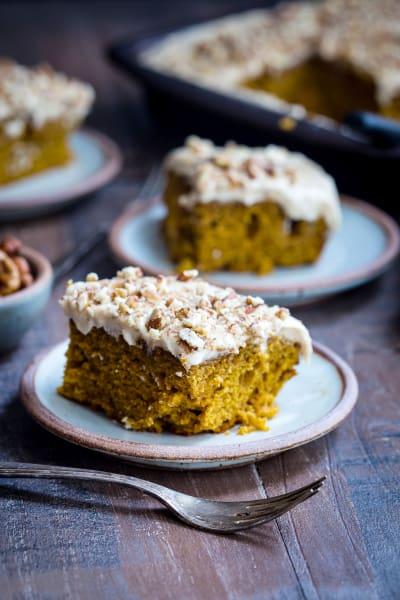 Bourbon Chai Pumpkin Snack Cake Pic