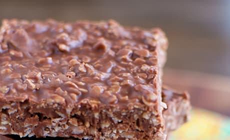 No Bake Chocolate Oatmeal Bars Image