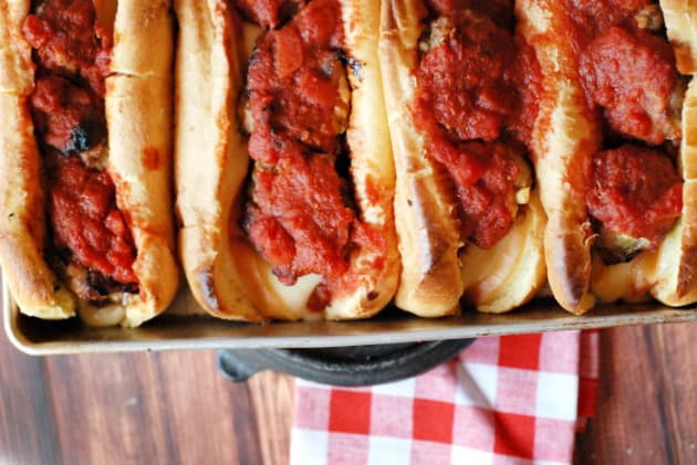 Homemade Meatball Subs Photo