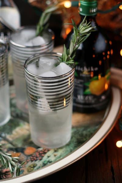 Rosemary Yuzu Gin Fizz Picture