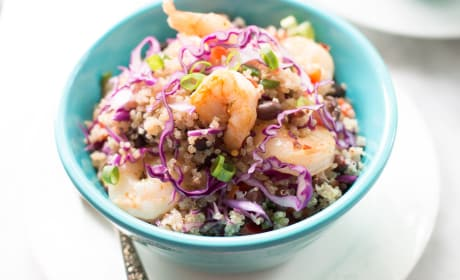 Shrimp Quinoa Salad Recipe