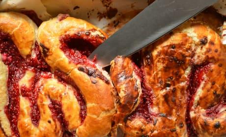 Icky Intestines Bread Image