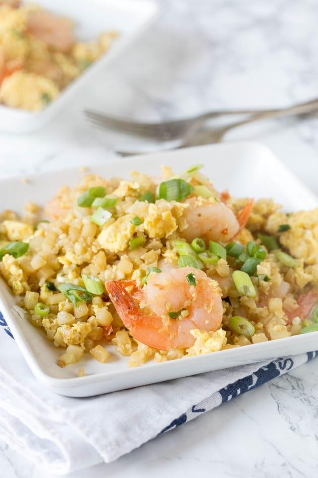 Shrimp Fried Cauliflower Rice Pic