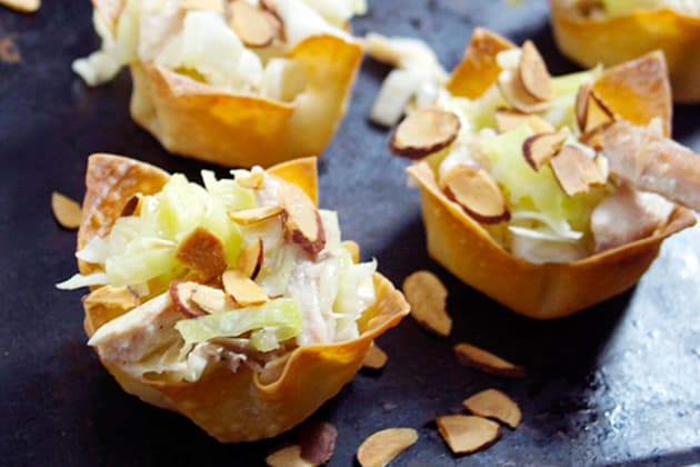Asian Chicken Salad Cups Photo