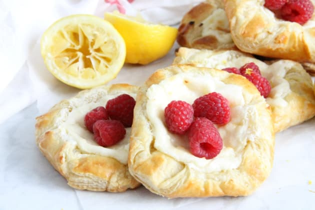 Lemon Raspberry Danish Photo