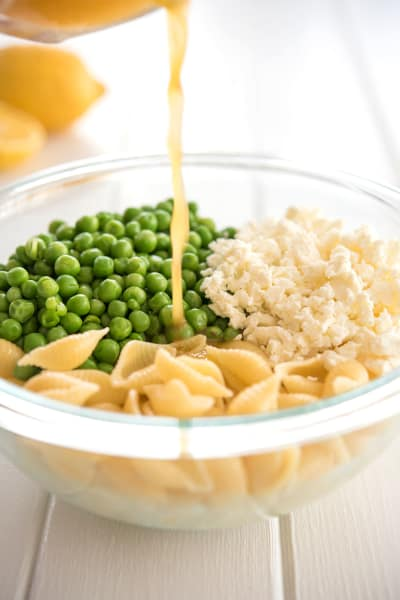 Lemon Pasta Salad Picture