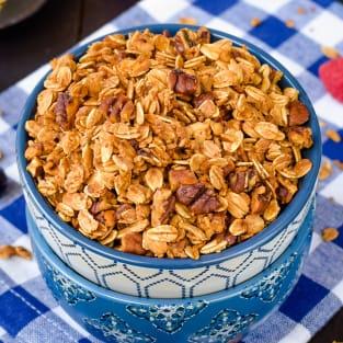 Honey nut granola photo