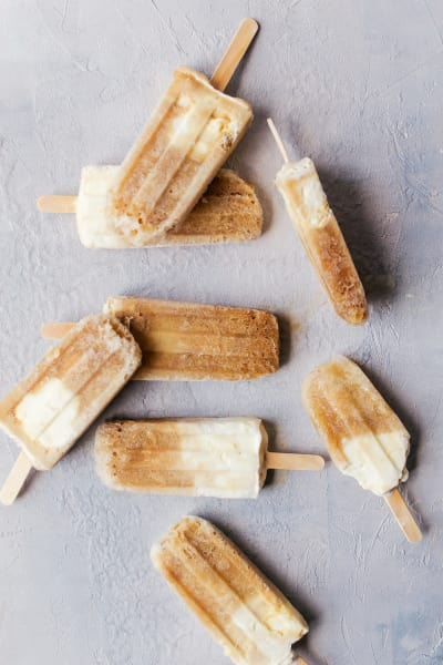Root Beer Float Popsicles Image