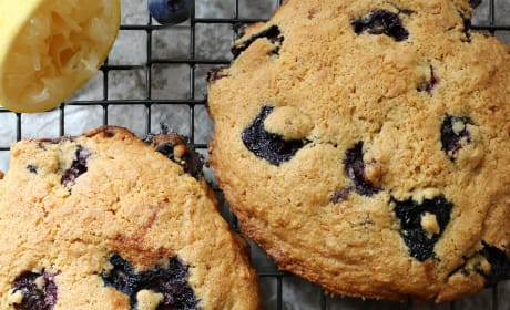 Gluten Free Lemon Blueberry Muffin Tops Image