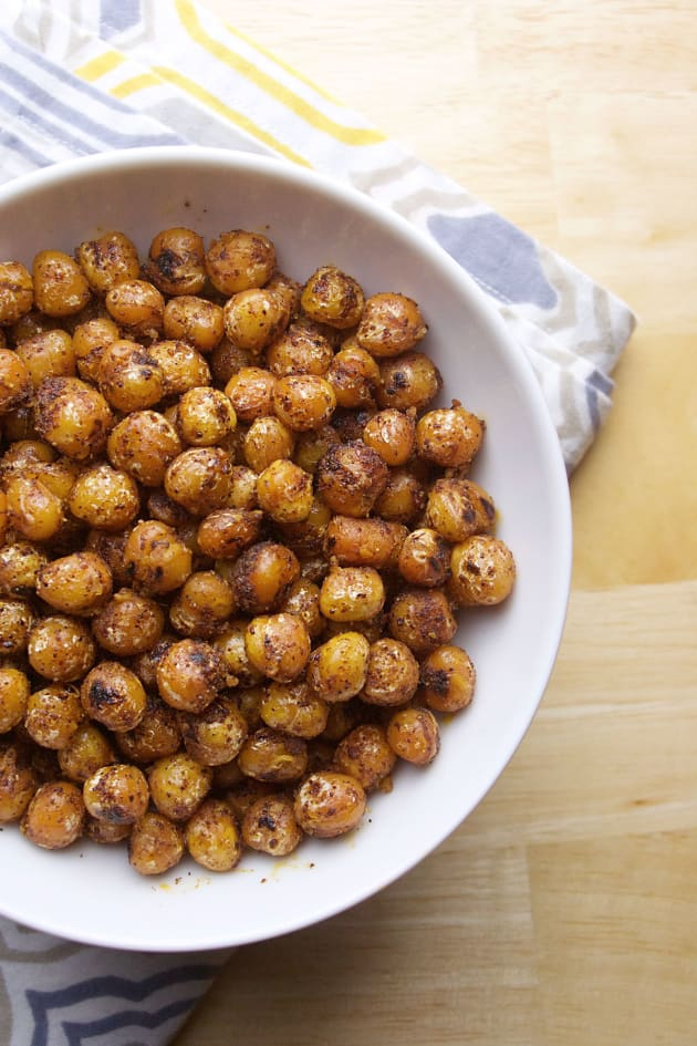 Pan Fried Chickpeas Picture