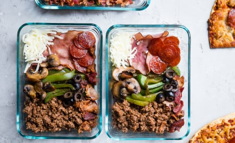 Low Carb Pizza Meal Prep Bowls Photo