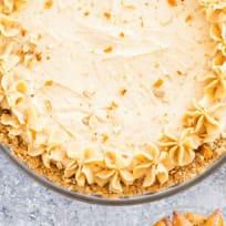 Peanut Butter Pie with Pretzel Crust Recipe