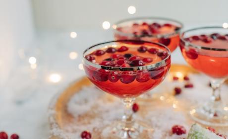 Cranberry Gimlet