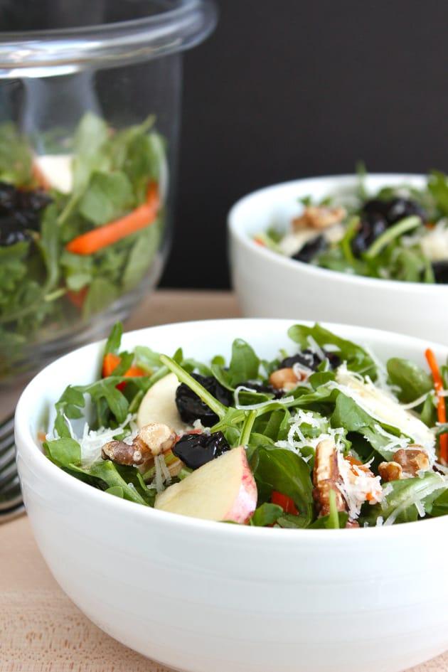 Fall Arugula and Apple Salad Image