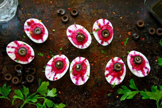 Deviled Egg Eyeballs Photo