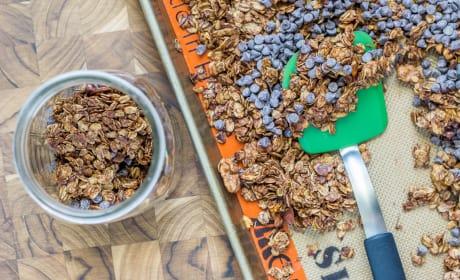 Mocha Java Granola Picture