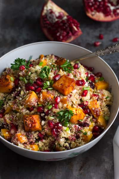 Roasted Butternut Squash Quinoa Salad Pic