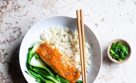Miso Glazed Salmon Pic