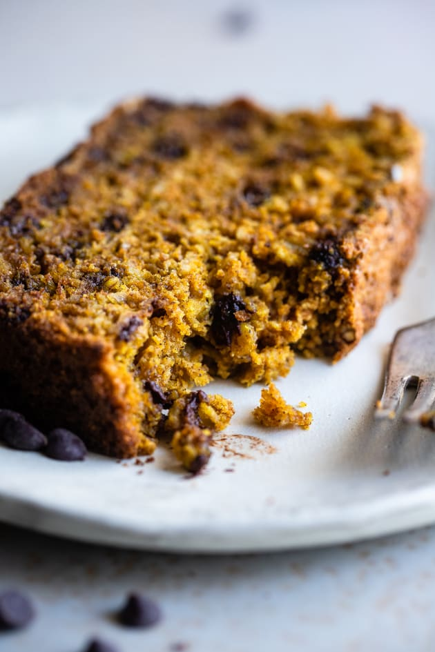 Gluten Free Turmeric Chocolate Chip Bread Image