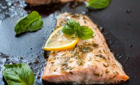 Lemon Basil Salmon Recipe