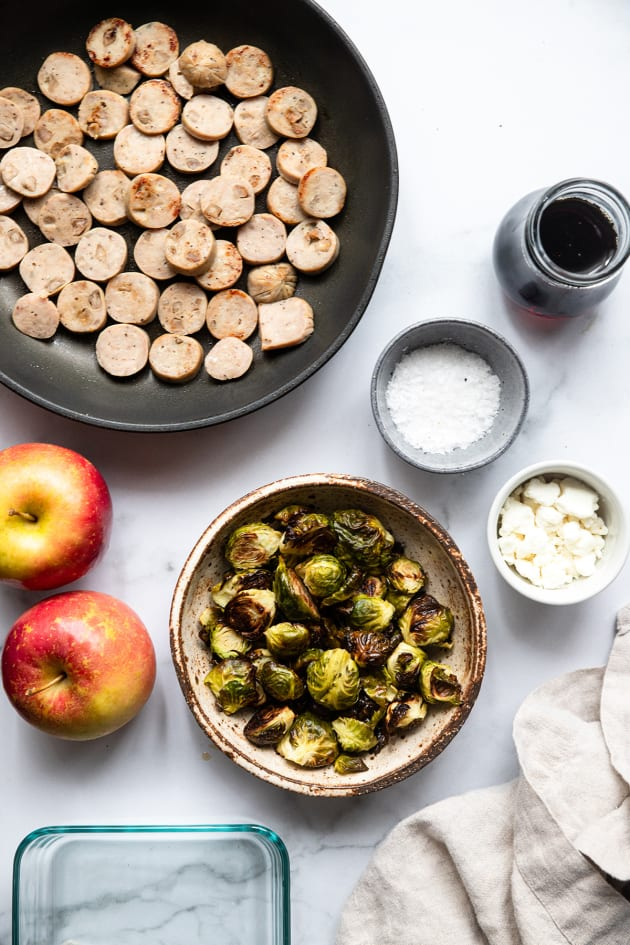Roasted Brussels Sprouts Bowls Picture