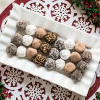 Chocolate Rum Balls Recipe