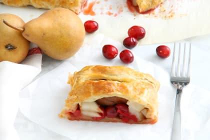 Cranberry Pear Strudel Recipe